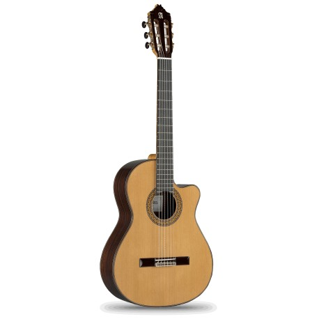 Guitarra Cut-away Alhambra 9 P-CW